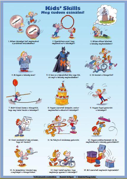 A Kids' Skills 15 lépése